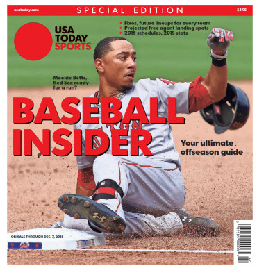 2015 Baseball Insider Special Edition - Red Sox Cover