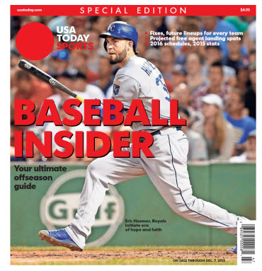 2015 Baseball Insider Special Edition - Royals Cover