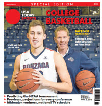 College Basketball - 2015 Special Edition - Gonzaga Cover
