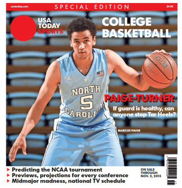 College Basketball - 2015 Special Edition - North Carolina Cover