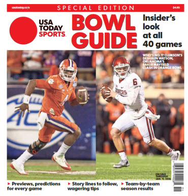 2015 College Bowl Guide Special Edition - Clemson - Oklahoma Cover