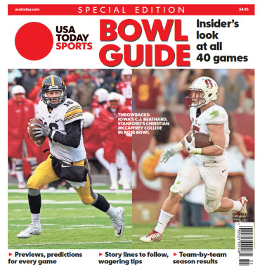 2015 College Bowl Guide Special Edition - Iowa - Stanford Cover