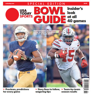 2015 College Bowl Guide Special Edition - Notre Dame - Ohio State Cover