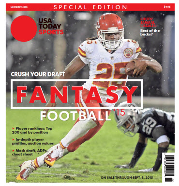 USA TODAY 2015 Fantasy Football Guide Special Edition - Chiefs