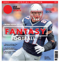 USA TODAY 2015 Fantasy Football Guide Special Edition - Patriots