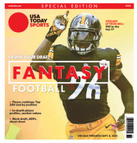 USA TODAY 2015 Fantasy Football Guide Special Edition - Steelers