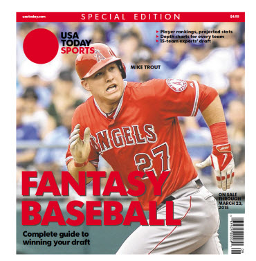Fantasy Baseball 2015 Special Edition - Mike Trout Cover