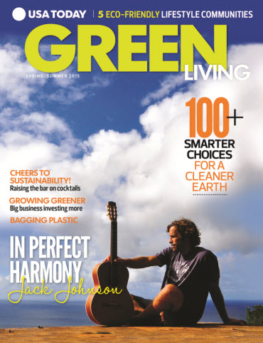 USA TODAY Green Living — Spring/Summer 2015
