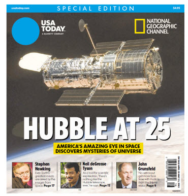 USA TODAY - National Geographic - Hubble at 25