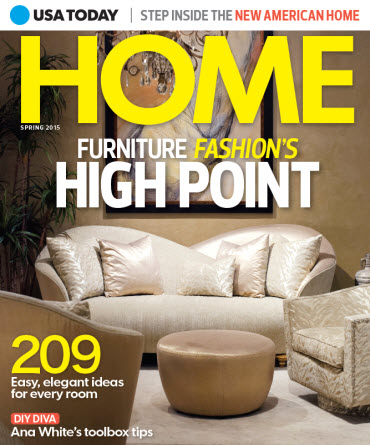 Home Magazines Usa usa today home - spring 2015 – usa today online store