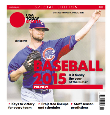 Baseball Preview 2015 Special Edition - Cubs Cover