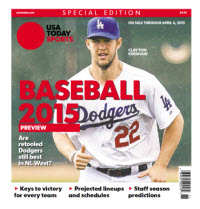 Baseball Preview 2015 Special Edition - Dodgers Cover