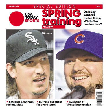 USA Today Sports 2015 Spring Training Preview Special Edition - Cubs - White Sox