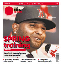 USA Today Sports 2015 Spring Training Preview Special Edition - Red Sox