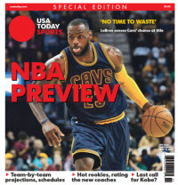 NBA Preview 2015 - Special Edition - LeBron James Cover