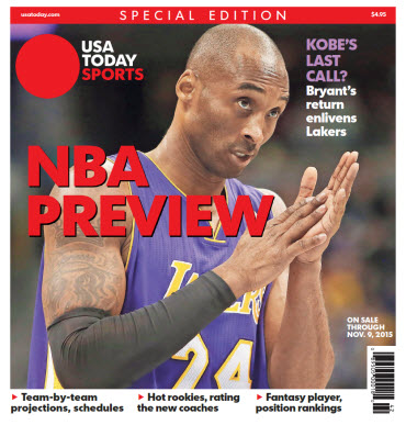 NBA Preview 2015 - Special Edition - Kobe Bryant Cover