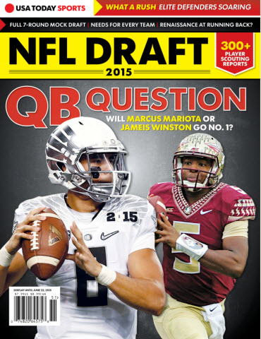 USA Today 2015 NFL Draft Preview Magazine