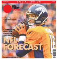 USA TODAY Sports  Special Edition - NFL Forecast  2015 - Peyton Manning Cover