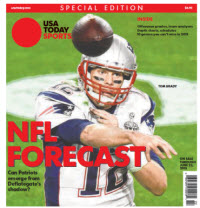 USA TODAY Sports  Special Edition - NFL Forecast  2015 - Tom Brady Cover