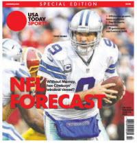 USA TODAY Sports  Special Edition - NFL Forecast  2015 - Tony Romo Cover