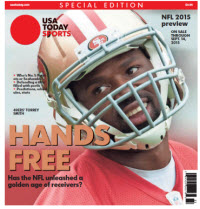 2015 NFL Preview Special Edition - Torrey Smith Cover