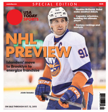 USA TODAY Sports NHL Preview - 2015 Special Edition - NY Islanders