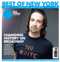 2015 USA TODAY Best of New York
