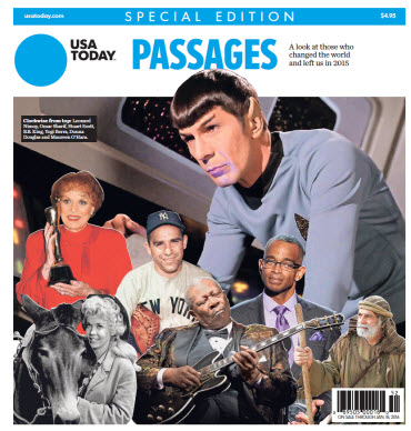 USA TODAY - Passages 2015