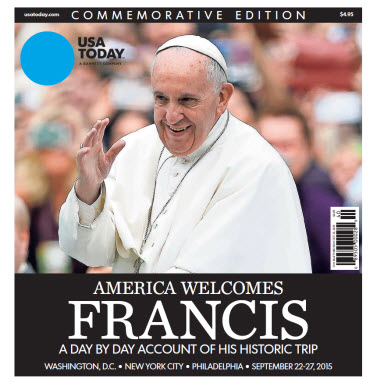 USA TODAY - America Welcomes Francis - Commemorative Edition