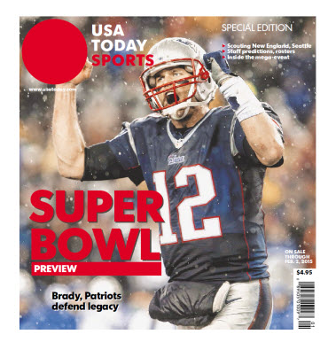 USA TODAY Sports 2015 Super Bowl Preview - Patriots Cover