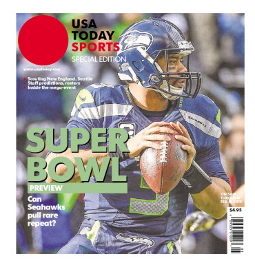 USA TODAY Sports 2015 Super Bowl Preview - Seahawks Cover