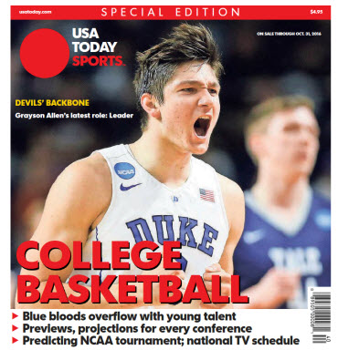 College Basketball - 2016 Special Edition - Duke Cover
