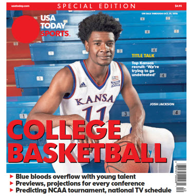 College Basketball - 2016 Special Edition - Kansas Cover