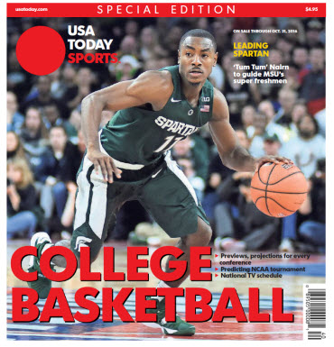 College Basketball - 2016 Special Edition - Michigan State Cover