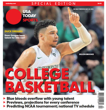 College Basketball - 2016 Special Edition - Oregon Cover