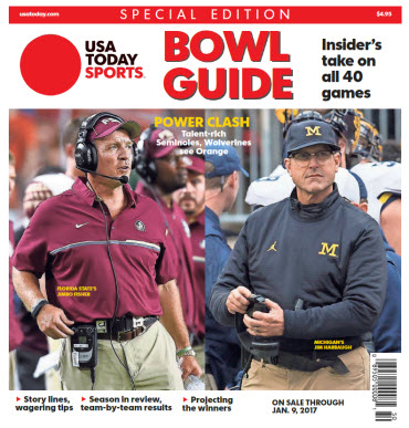 2016 College Bowl Guide Special Edition - Orange Bowl Cover