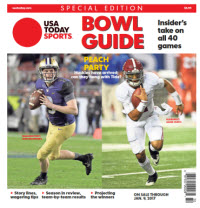 2016 College Bowl Guide Special Edition - Peach Bowl Cover