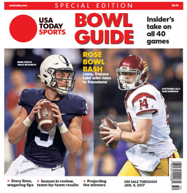 2016 College Bowl Guide Special Edition - Rose Bowl Cover