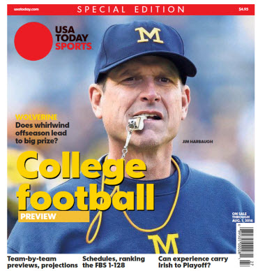 College Football Preview 2016 Special Edition - Michigan Cover