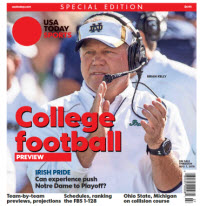 College Football Preview 2016 Special Edition - Notre Dame Cover