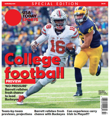 College Football Preview 2016 Special Edition - Ohio State Cover