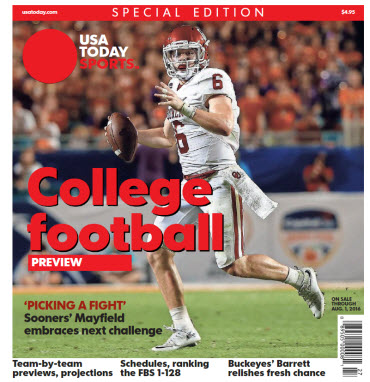 College Football Preview 2016 Special Edition - Oklahoma Cover