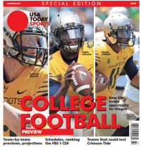 College Football Preview 2016 Special Edition - Oregon Cover