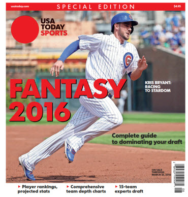 Fantasy Baseball 2016 Special Edition - Kris Bryant Cover