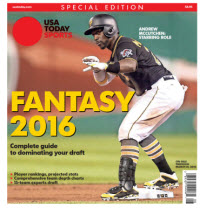 Fantasy Baseball 2016 Special Edition - Andrew McCutchen Cover