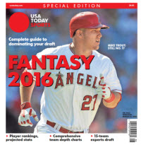 Fantasy Baseball 2016 Special Edition - Mike Trout Cover