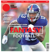 USA TODAY 2016 Fantasy Football Guide Special Edition - Giants Cover