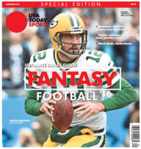USA TODAY 2016 Fantasy Football Guide Special Edition - Packers Cover