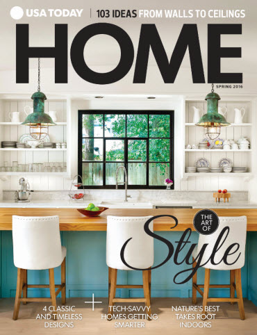 Home Magazines Usa usa today home - spring 2016 – usa today online store