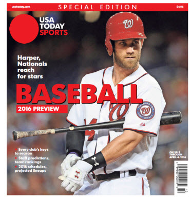 Baseball 2016 Preview Special Edition - Nationals Cover